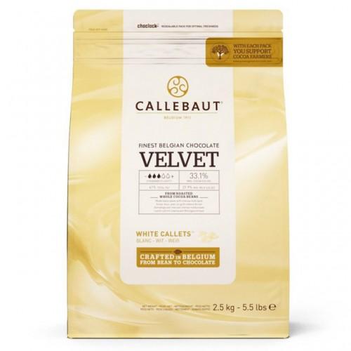 Callebaut Velvet biała...