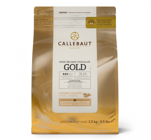 Callebaut Gold złota...