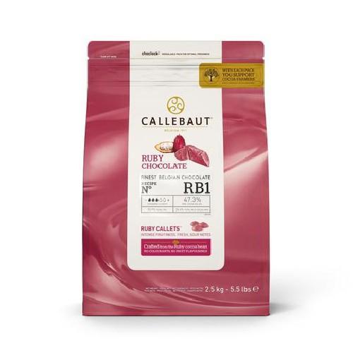 Callebaut RB1 różowa...