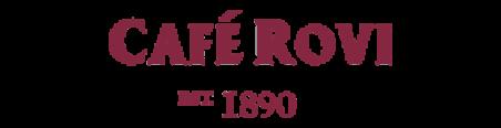 Cafe Rovi Est 1890